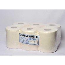 Pack 6 Rollos de Papel Secamanos Cheminé de 0.8 Kg Laminado Extra Cel800 HOSTELCASH (1 pack)