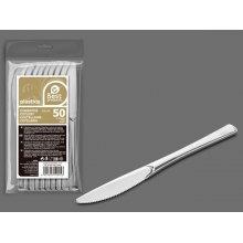 Bolsa de 50 Cuchillos Grandes color Plata 20 Cm 10055 (1 ud)