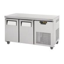 Mostrador congelador de 2 puertas 297 litros compatible Gastronorm CC231 TRUE
