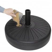 Base de plástico rellenable para sombrillas (20Ltr) CM664 BOLERO