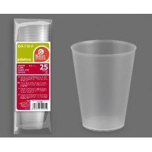 Bolsa de 25 Vasos Irrompibles de Polipropileno de 500cc 10024 (1 ud)