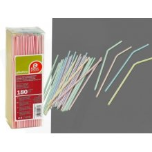 Caja de 180 Cañas Flexibles Rayadas 210x5 mm 256600 (1 ud)
