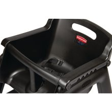 Trona Negra GG477 Rubbermaid