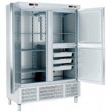 Armario Snack Refrigerado con Departamento de Congelados 2 medias puertas 1400x720x2100h mm ARCH-1203-DC