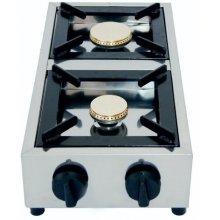 Cocina a Gas Sobremesa 2 quemadores (con Termopar) PRO7501