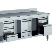 Módulo 2 Cajones para Mesas de 600 mm de 460x530 x600h mm MC26