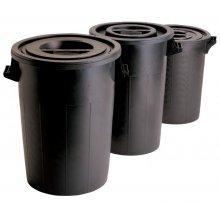 Cubo de Basura de 100 litros Sin Tapa de 52x65cm 4099 FERVIK (1 ud)