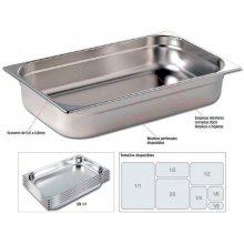 Cubetas Gastronorm Acero Inoxidable de GN1/9-100mm GNCH39