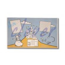 Paquete de 100 Manteles con Impreso Infantil de 30x40cm surtidos MAD913 DICAPRODUCT (1 paquete)
