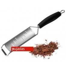 Rallador de Tiras Largas de Acero Inoxidable Wide con Mango PUJADAS P322.201 (1 ud)