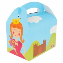 "Pack 50 Cajas Menu Infantil ""CASTILLO"" de 17x16x10cm cartoncillo 195.00 GDP (1 Pack)"
