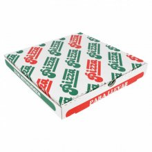 Pack 100 uds Caja Pizza Microcanal 24x24x3cm 148.26 GDP (1 pack)