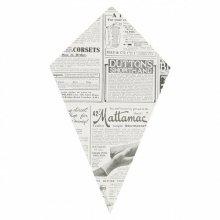 """Pack de 200 Cucuruchos Frito """"TIMES"""" de 22x12'5cm Prensa 097.92 GDP (1 pack)"""