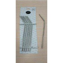 Set de 6 Pajitas de 23cm de Acero Inox 18/10 B966019X VIEJO VALLE (1 set)
