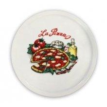 Plato de Pizza de 30cm Deco 0735 178-0003 ALAR (Caja 6 uds)