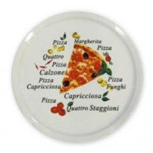 Plato de Pizza de 30cm Deco 5041 178-0004 ALAR (Caja 6 uds)