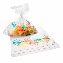 Pack 2000 Bolsas con impresion 7 DIAS SEMANA 25,5x22cm Transparente 520.76 GDP (1 Pack)