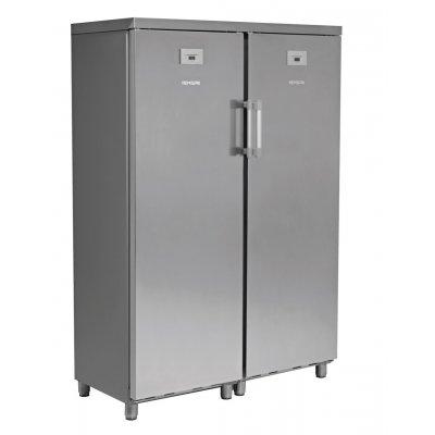 Armario Snack de Refrigerados y Congelados 700 litros 2 Puertas Inoxidable de 1250 x650 x1770h mm KITCF350PROSS