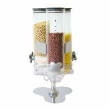 Dispensador de cereales Triple Acrílico de 20x20x45cm 146.73 GDP (1 ud)