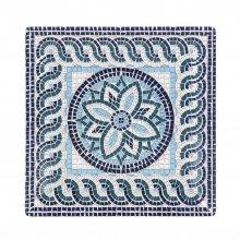 Plato Llano Ming II Mayolica de 26x26x2'5cm B2765Y2 VIEJO VALLE (Caja 6 uds)
