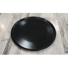 Plato de Pizza Reserve Negro de 33x2'5cm B758042 Viejo Valle (Caja 6 uds)