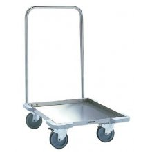Carro con asa para el transporte y estocaje de cesta de vajilla CC-55 EDENOX