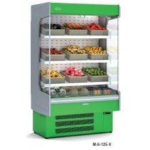 Mural Refrigerado Expositor DOCRILUC Frutas y Verduras Fondo 725 de 680x725x2020h mm M-6-70V