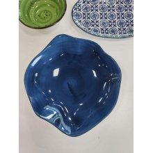 Plato Hondo de 23cm Stone Azul Cobalto 4620-6590/17 Lubiana (caja 6 uds)