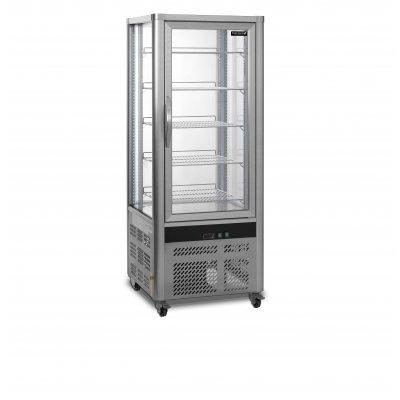 Armario Refrigerado Ventilado Total 4 Caras de Cristal con 5 estantes UPD200-I