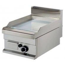 Fry tops a gas sobremesa Placa Acero rectificado 15 mm 6,0kw 400x700x290h mm GG711SR ARISCO