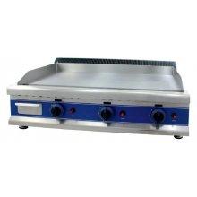 Frytops a Gas Acero 16 mm con Baño Cromo Duro 50 Micras de 950 x610 x340h mm ICG950C