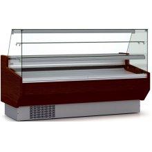 Vitrina Refrigerada Expositora Cristal Recto/Curvo Fondo 900 DOCRILUC VEPD-9