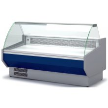 Vitrina Refrigerada Expositora Cristal Recto/Curvo Fondo 900 VED-9 DOCRILUC