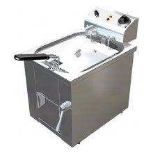 Freidora Eléctrica 10 litros Trifásica Uso Profesional Agua y Aceite de 325 x440 x360h mm F10TRI