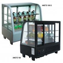Vitrina refrigerada 100 litros sobremostrador ANETO10 MES FRED