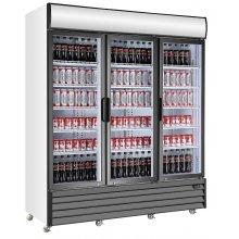 Armario Refrigerado Expositor de 1710 litros con 3 puertas pivotantes EXPO1710TN MES FRED