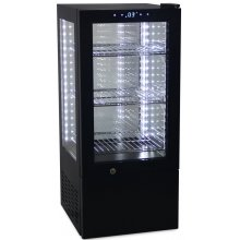 Vitrina Expositora Refrigerada 4 caras cristal de 65 litros G-65-OUT-01 (OUTLET TARA)