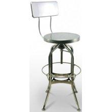 Taburete tipo industrial con asiento regulable NUREMBERG