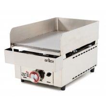 Frytops a gas de acero rectificado de 15 mm de 335x590x345h mm 35FRYGR(OUTLET)