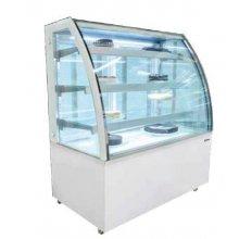 Vitrinas refrigeradas con cristal curvo fondo 700 VERA-C EDENOX