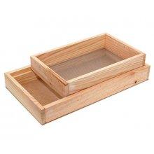 Harinador Completo de madera de 32,5x18x8 cm 8008 INALSA (1 ud)