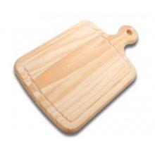 Tabla de Cortar de madera con Mango de 35x21x2cm 6202 INALSA (1 ud)