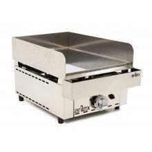 Frytops a gas de acero de 15 mm con baño de cromo duro con medidas 335x590x345h mm 35FRYGC(OUTLET)