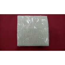 Caja 24 paquetes de 50 de Servilletas de 40x40 cms color Blanca diseño Espiral PP40ESPIRAL HOSTELCASH (1 caja)