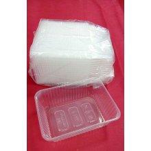 Paquete de 50 uds de Envases para Raciones de 1000cc Aptos para Microondas hasta 120º EM1000PP HOSTELCASH (1 paquete)