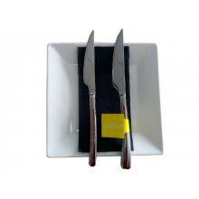 Mazo de 2 uds de Cuchillo de Mesa 18% Serie Cuba M2283 COMAS