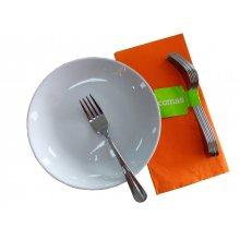 Mazo de 6 uds de Tenedor Lunch 18% Serie Granada 1603 COMAS
