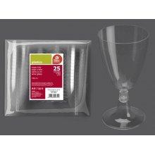 Bolsa de 25 Copas de Vino Transparente de 165 ml. 265500 BESTPRODUCT (1 bolsa)