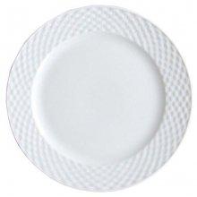 Bajo Plato Trenzado de Porcelana de 30 cms PATR1005 EFG (Caja 6 uds)