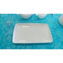 Fuente rectangular Porcelana 24x18cm PACD1007 EFG (Caja 6 uds)
